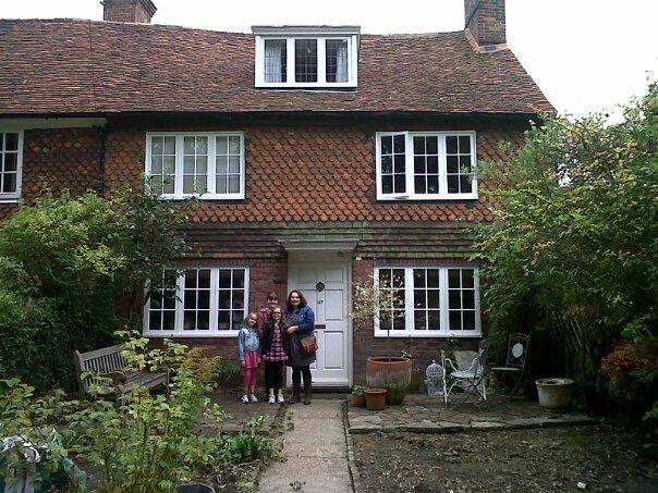 My aunties yard in Kent