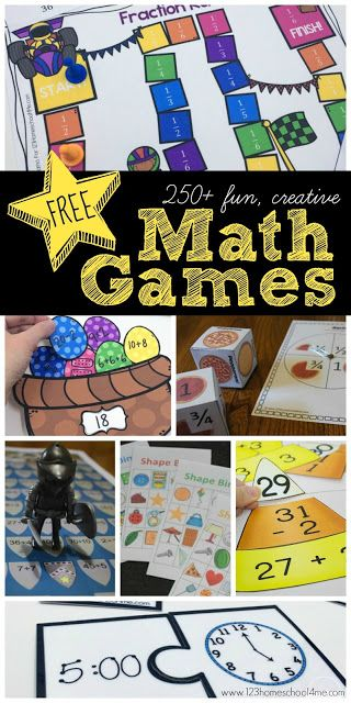 Free Math Games Activities Special Education Pinterest Math