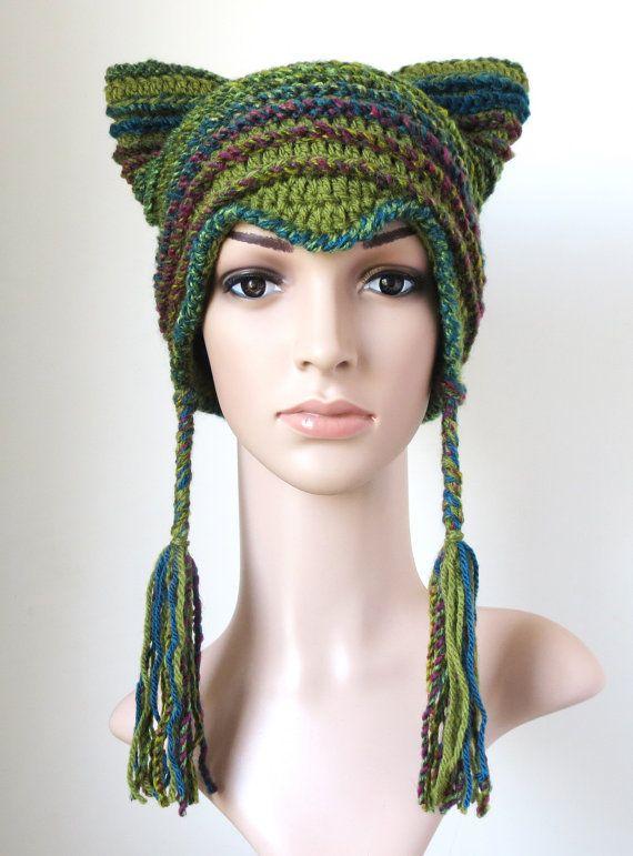 a3b164c253a Cat Earflap Hat