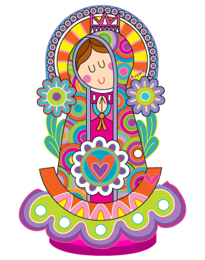 Personaje De La Marca Virgencita Plis De Distroller My Believes