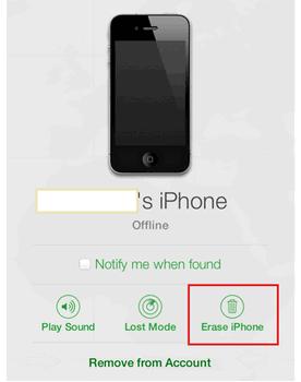 Erase Iphone Via Icloud Unlock Iphone Iphone Unlock My Iphone