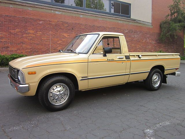 1980 Toyota Pickup Hilux 20r 4 Cyl 5 Sd
