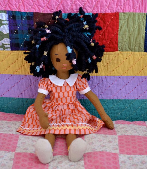 Posable Handmade 100 Wool Doll Jointed by PhoebeandEgg on Etsy