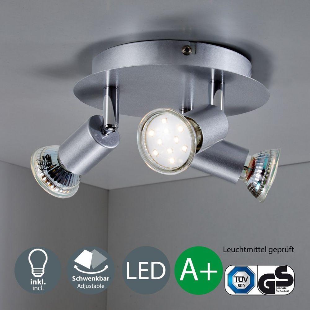 Wunderbar Lampe 3 Flammig Beste Wahl Led Deckenleuchte Gu10 Spot-leuchte Decken-lampe 3-flammig Küche
