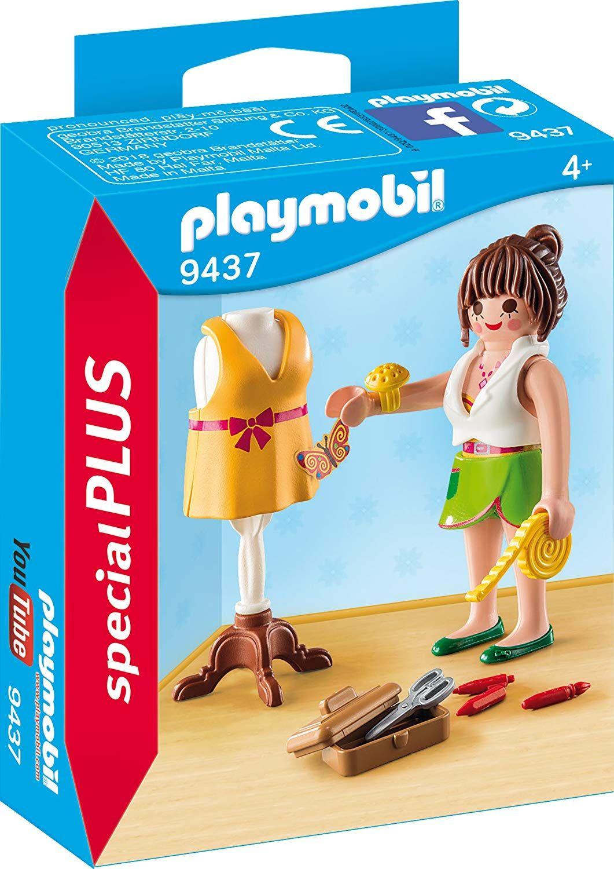 מומלץ לגילאי 4 בגודל 5 1 ס Playmobil Sets Playmobil Fashion Design