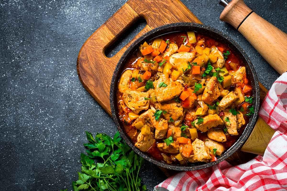 7 Platos De Cuchara Con Pollo Guisos Comida Saludable Recetas De Comida