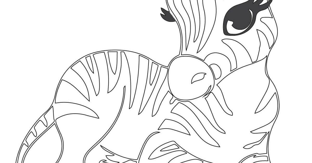 Cute Baby Zebra Coloring Page Free Printable Coloring Pages Baby Zebra Zebra Coloring P Zebra Coloring Pages Giraffe Coloring Pages Zoo Animal Coloring Pages