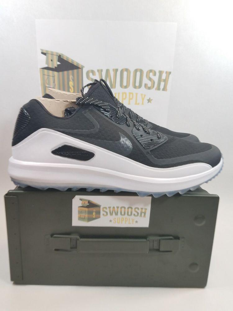 4b3b74512ade1d NIKE AIR ZOOM 90 IT GOLF SHOES WHITE BLACK VOLT 844569 001 TW sz 12  Nike   GolfShoes