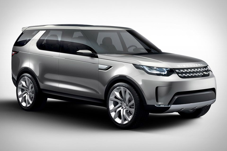 Land Rover Discovery Vision Concept Range 2017 Sports Cars New