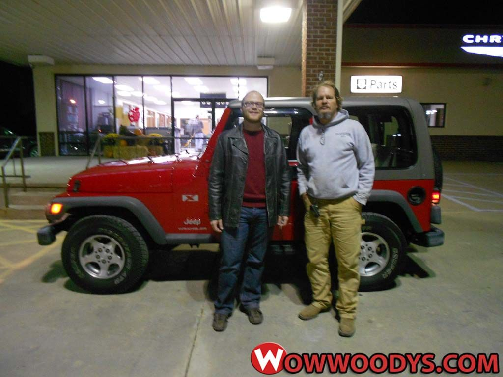 Ronald Corzette From Bogard Missouri Purchased This 2004 Jeep