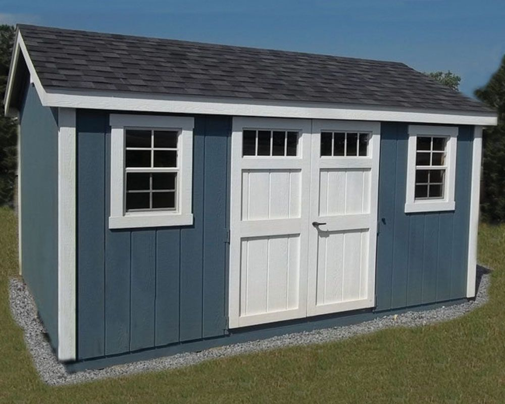 Deluxe Painted A Frame Shed Painted Garden Sheds Backyard Sheds Shed