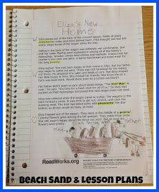 Minds in Bloom: Reading Response Homework That's Fun!