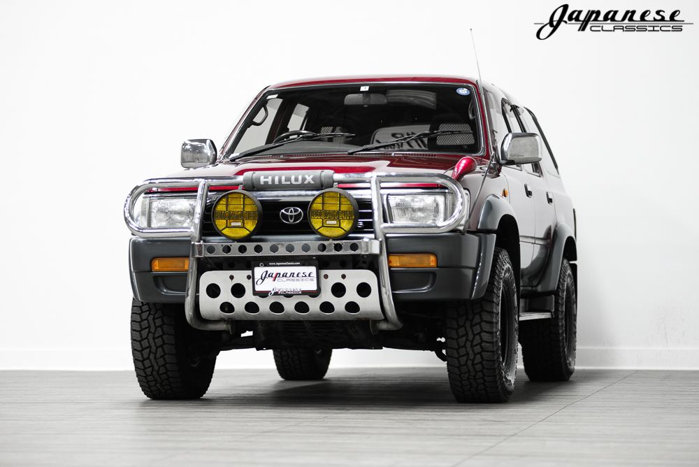 1992 Toyota Hilux Surf Ssr X Arriving Late August Jdmbuysell Com Toyota Hilux Toyota Toyota Dealership