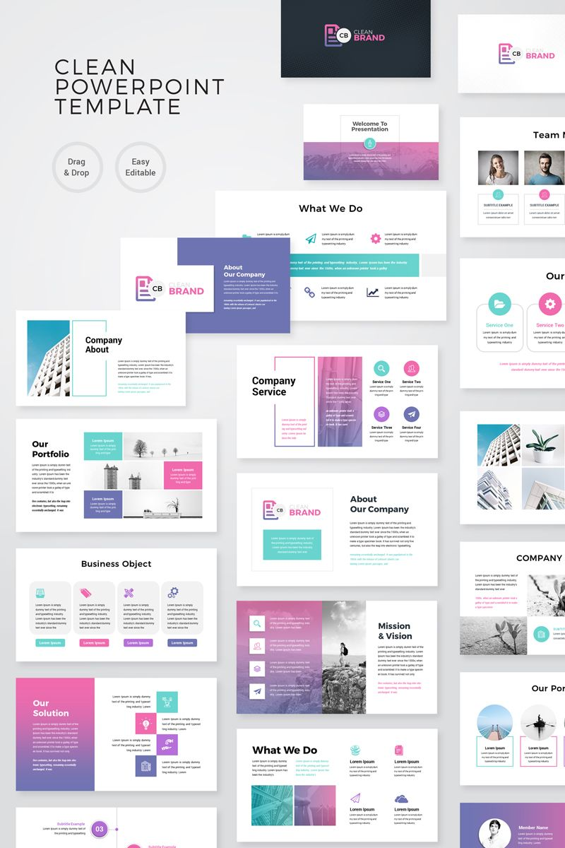 Powerpoint Template Business from i.pinimg.com