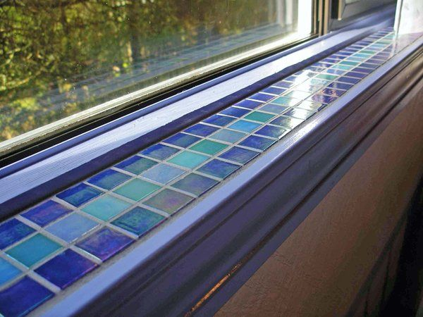 Wonderful Mosaic Tile Window Sill 2 By ~sandevolver On DeviantART