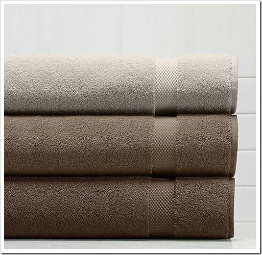 Rh Gray Brown Towels