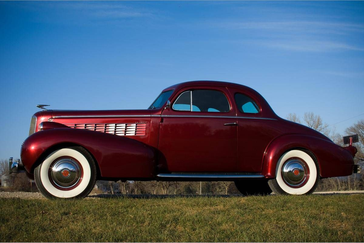 1937 lasalle opera coupe for sale