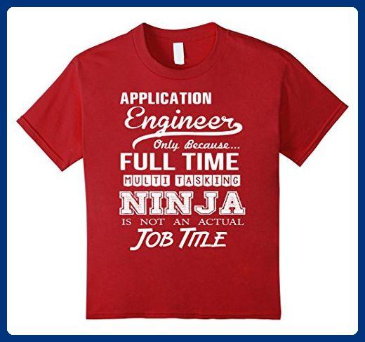 Kids Application Engineer T-Shirt 10 Cranberry - Careers - application engineer job description