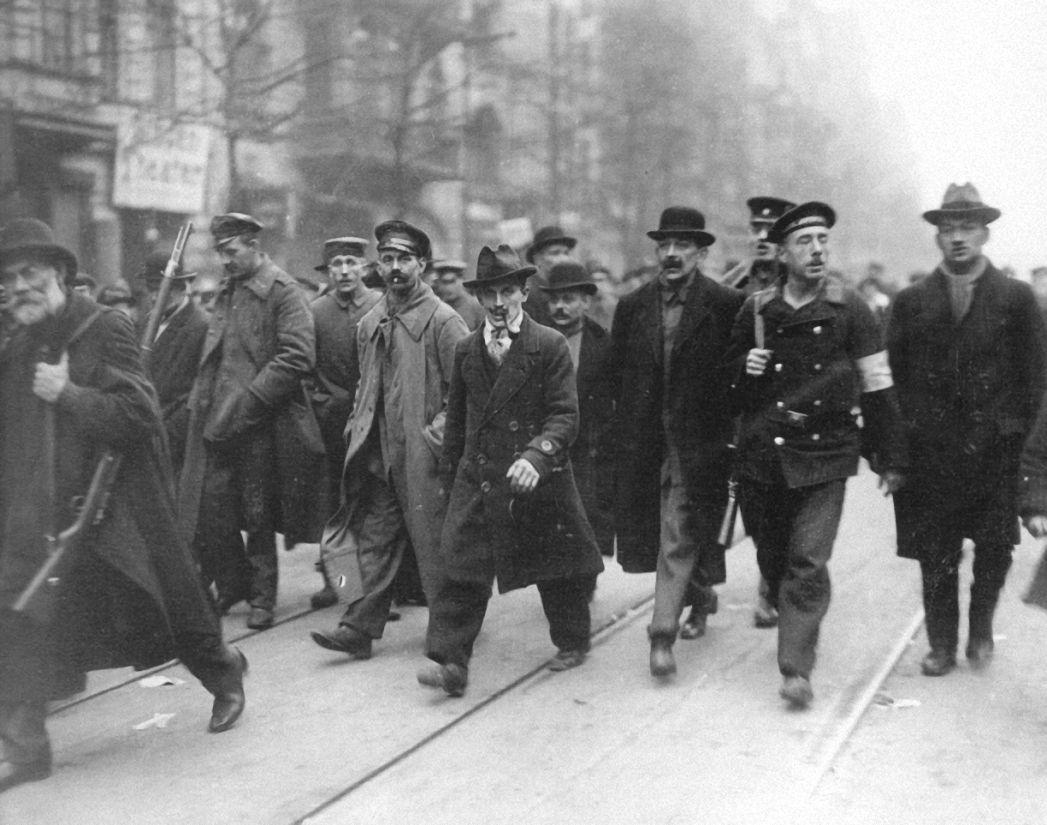 Berlin. Revolutinäre am 5 Januar 1919.