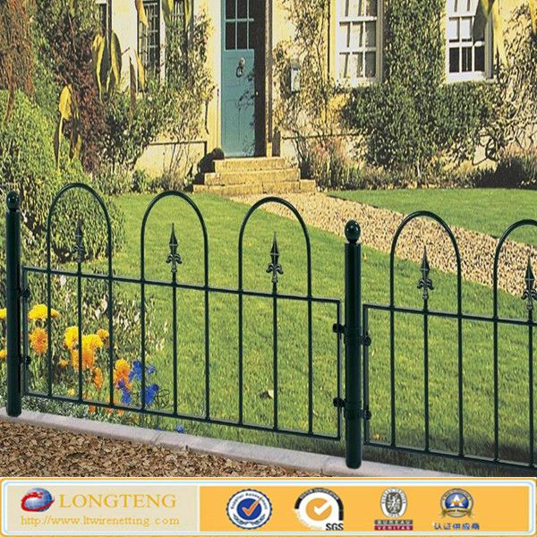 These Decorative Metal Fencing Can Be Used As A Low Garden Boundary Or On Top Of A Wall