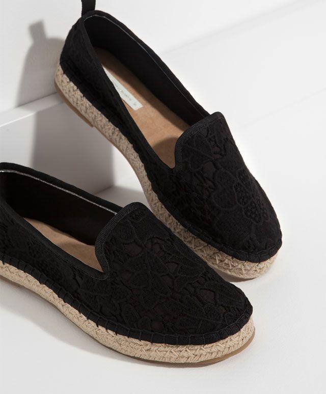 Espardeña crochet. Oysho. 550 | Shoes | Pinterest | Alpargatas ...