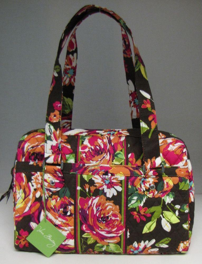 ff61f74e69 Vera Bradley Caroline Purse English Rose Shoulder Bag New Free Shipping   VeraBradley  Satchel