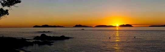 Ria de Vigo. Islas Cies