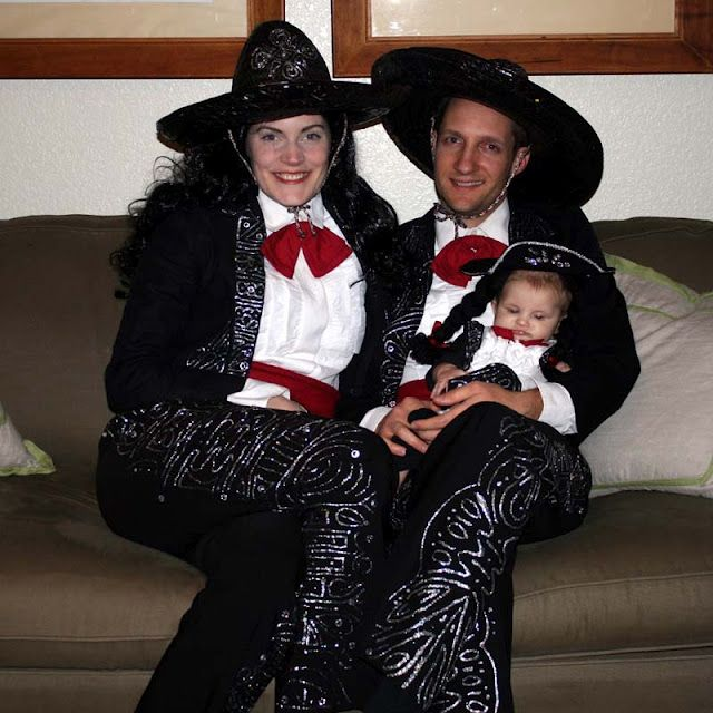 The Three Amigos Halloween Costume!  My favorite all time Halloween costume from our family!