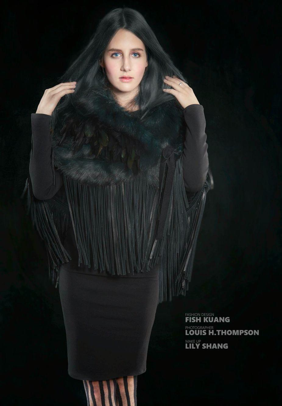 Fashion Design Fish Kuang Photographer Louis H.Thompson Make-Up 張玲雪 Model 陳雪兒