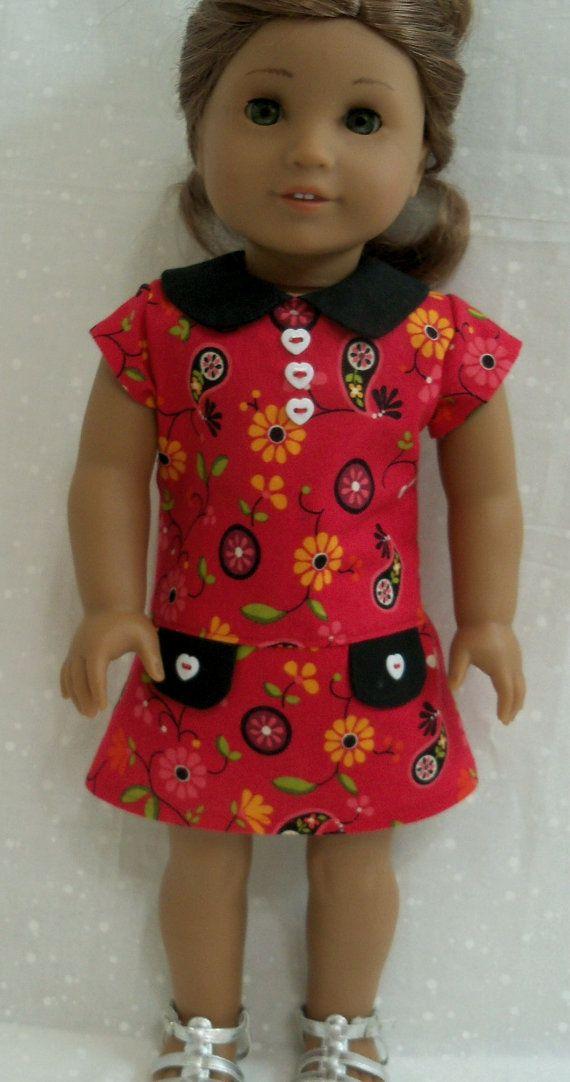 18 Inch Doll Clothes American Teacher's Pet by ThreadsAndSplinters, $19.75
