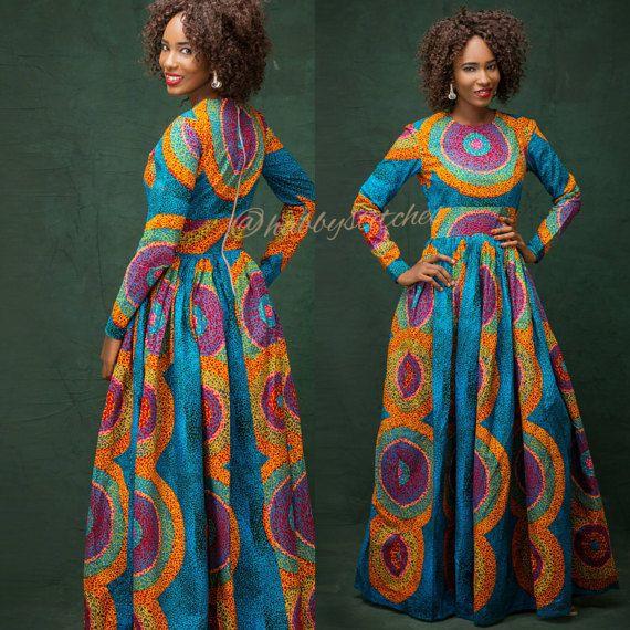African long dress fashions