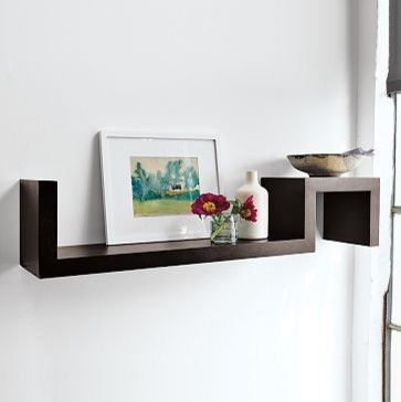 S Wall Shelf West Elm Modern Wall Shelves Really Want This For Candles In The Bathroom Modern Wall Shelf Contemporary Wall Shelf Wall Shelves