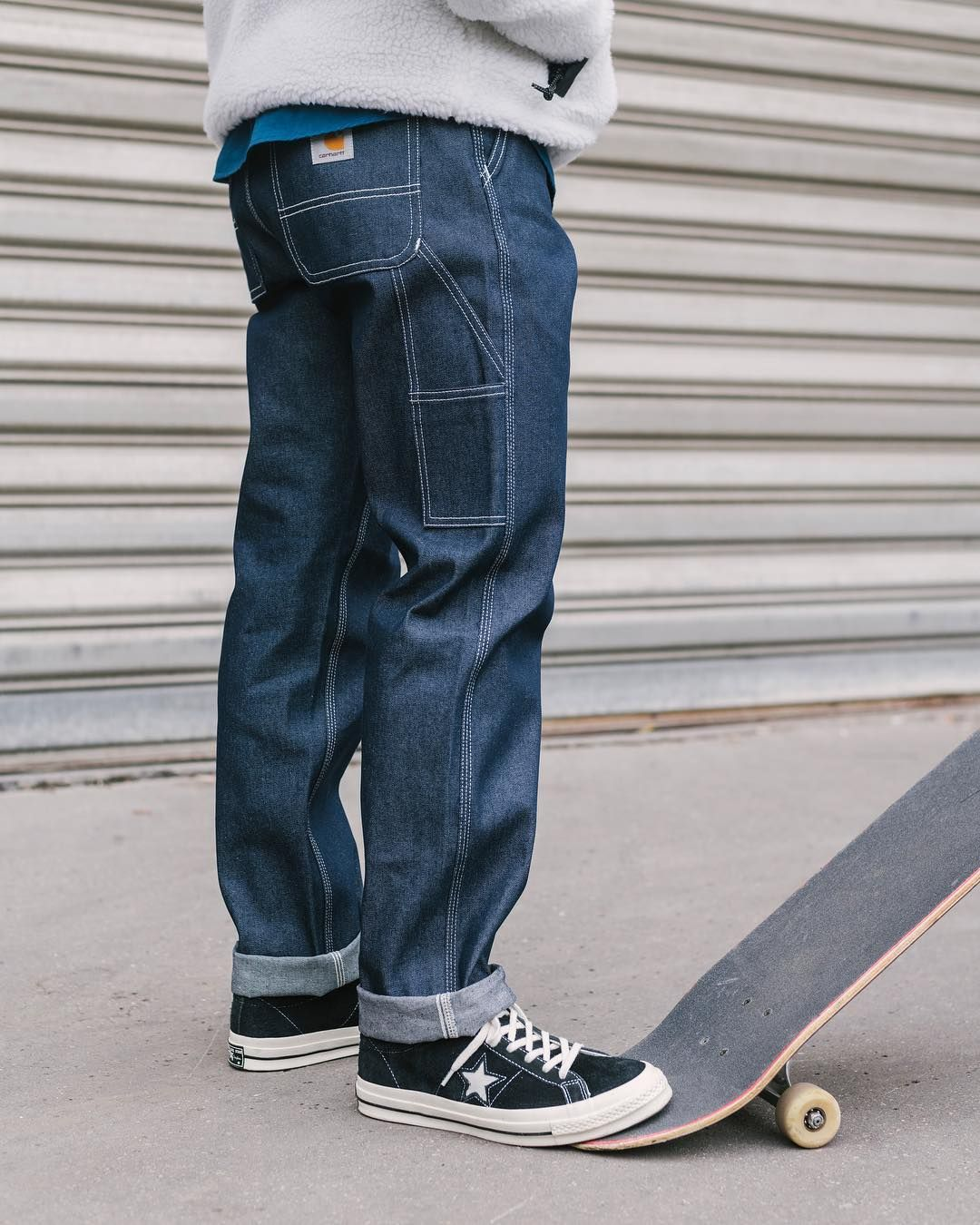 """f199474db2e Carhartt Work In Progress on Instagram  """"FW18 Ruck Single Knee Pant.  Available in"""