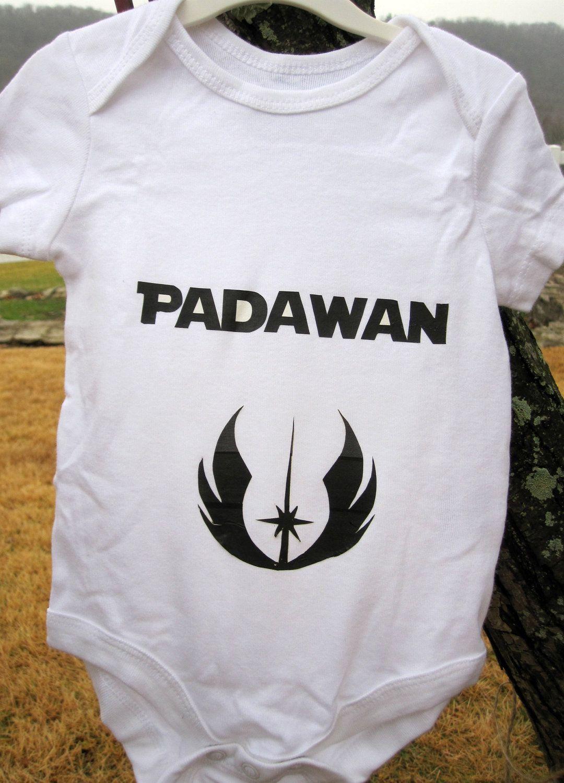 Star Wars Padawan Onesie By Kelseymcmargaret On Etsy
