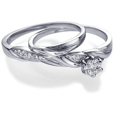 engagement and wedding ring beautiful so simple and eleganti want - Fancy Wedding Rings