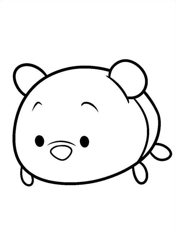 27 coloring pages of Tsum tsum on Kids n Funcouk On Kids n Fun