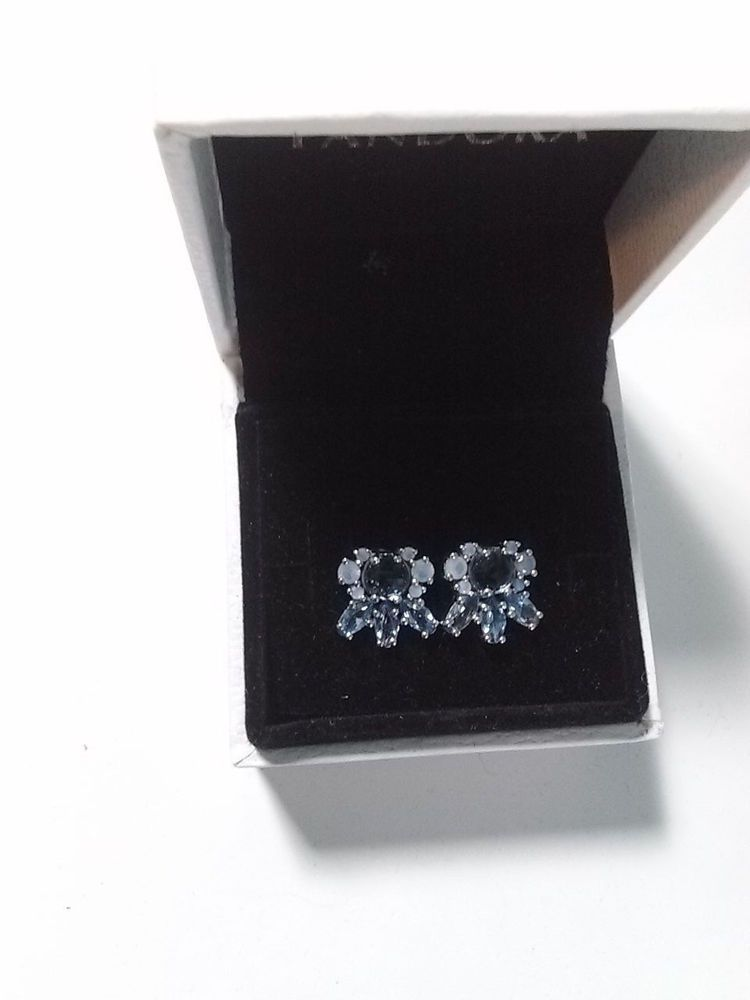 d81be2db7 Pandora Patterns of Frost Earrings #290731NMBMX Multi-Colored Crystal # PANDORA #Stud