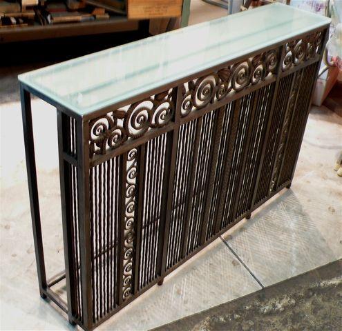 Repurposed Console Frank S Patio Furniture Makeover Build A