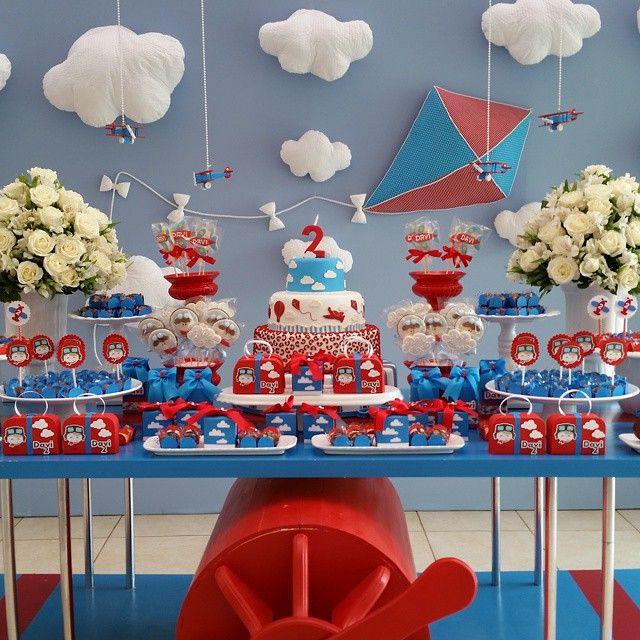 Nas nuvens com Davi... #rrdamata #festainfantil #festaspersonalizadas #festamenino