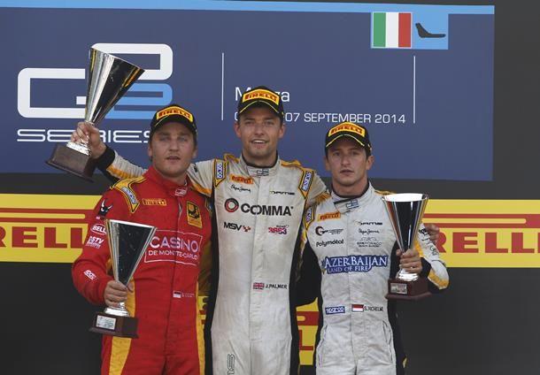 GP2, C1 et C2 à Monza: Pic assure, Richelmi aussi