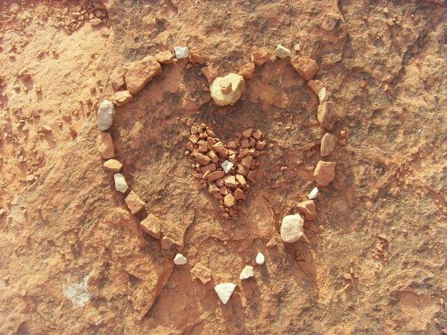 Land art, Sedona, Arizona