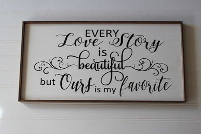 Every Love Story Sign Kit