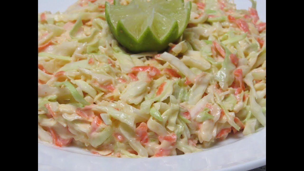 الوصفة الاصلية لكول سلو أشهر سلطة امريكية بالملفوف Coleslaw Cabbage Food Vegetables