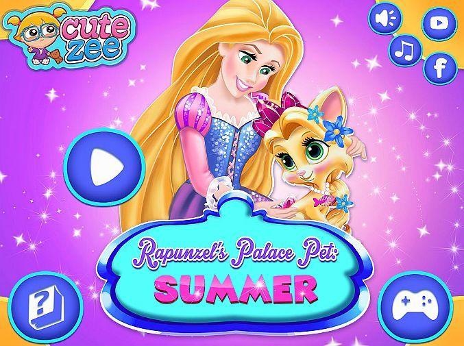 Gameoftheday Http Www Girlgames4u Com Rapunzel S Palace Pet U