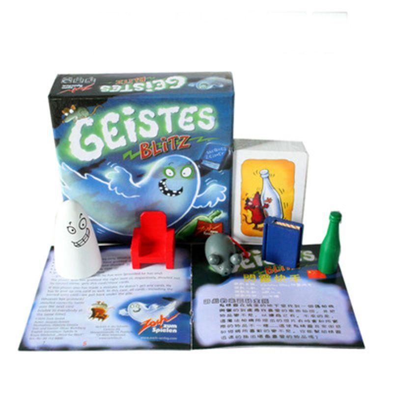 Geistes Blitz 1 Juego 2 8 Jugadores Familia Partido Mejor Regalo