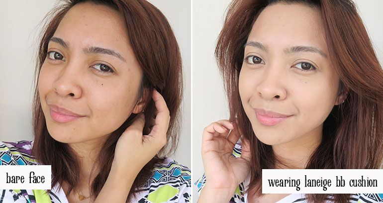 Laneige Bb Cushion Pore Control Brown Beige Review Swatches Gen