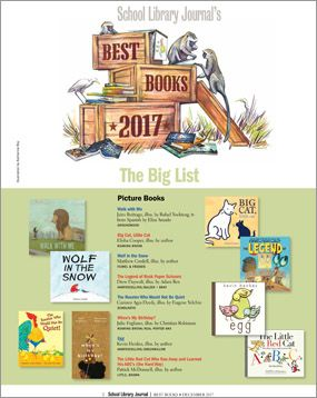 School Library Journal has covered the best of everything in 2017, from  books for kids