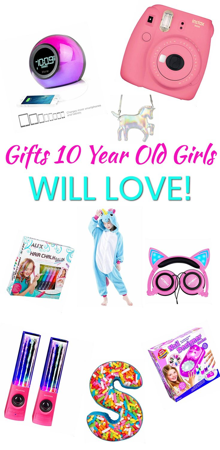 Best Gifts For 10 Year Old Girls | Gift Guides | Gifts, Christmas ...