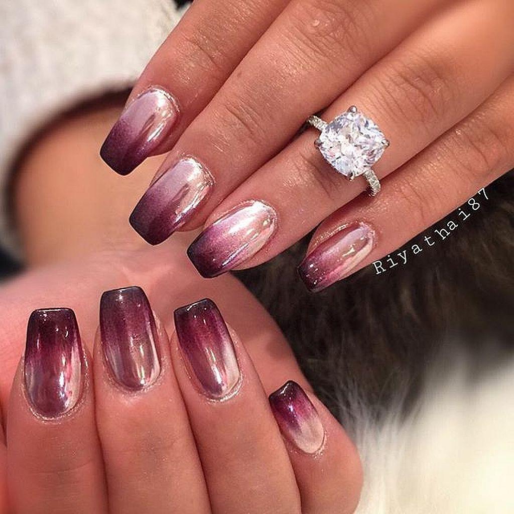 Glamour Chrome Nails Trends 2017 39 | Nails | Pinterest | Chrome ...