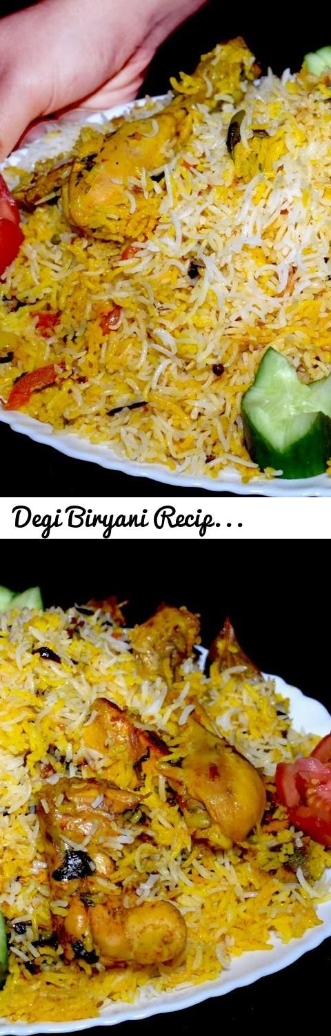 Degi Biryani Recipe Shadiyon Wali Biryani Chicken Biryani Recipe